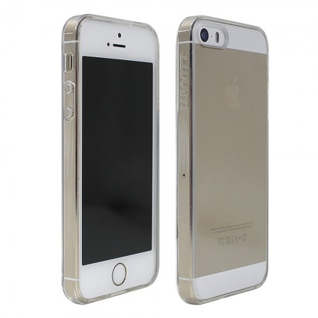 LUVVITT CLEARVIEW Scratch-Resistant Case for iPhone 5 / 5S / SE - Clear