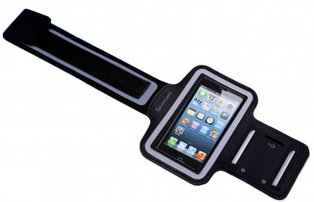 """LUVVITT Sports Running Armband Case for iPhone 6 Air 4.7"""" inch - Black"""