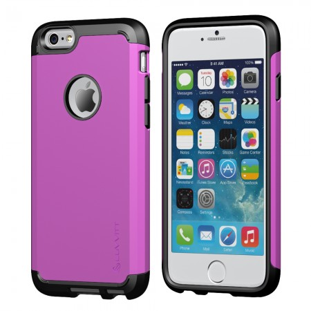 LUVVITT ULTRA ARMOR iPhone 6/6s PLUS Case | Back Cover for iPhone 5.5 in - Purple