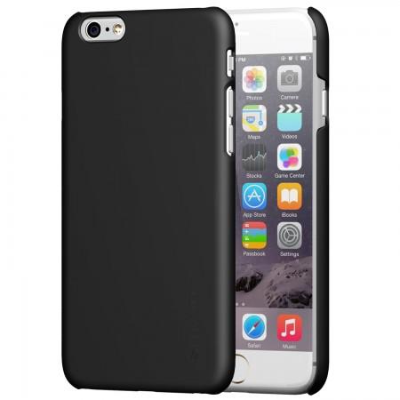 LUVVITT SVELTE Hard Slim Fit Premium Matte Finish Case for iPhone 6/6s - Black