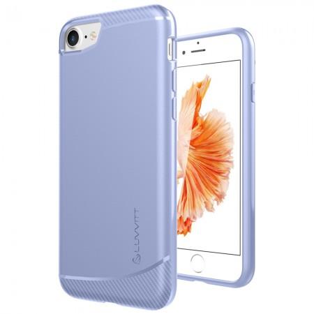 LUVVITT SLEEK ARMOR Case Shock Absorbing TPU Cover for iPhone 7 - Violet