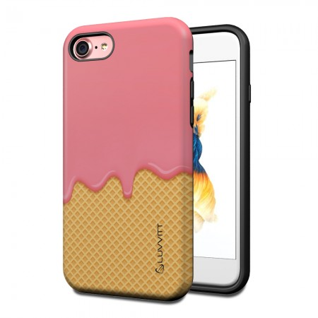 LUVVITT ARTOLOGY Armor Case for iPhone 7 | Dual Layer Back Cover - P005
