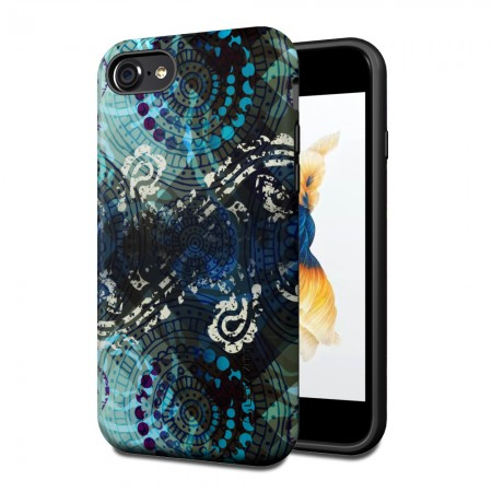 LUVVITT ARTOLOGY Armor Case for iPhone 7 | Dual Layer Back Cover - P007