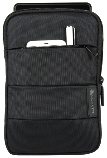 LUVVITT MASTER Sleeve Case Pouch for iPad MINI and 8 inch Tablets - Black