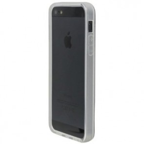 LUVVITT Bumper for iPhone 5 (Retail Packaging) - Transparent Frost