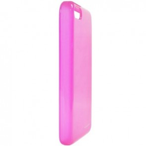 LUVVITT FROST Soft Slim TPU Case / Cover for iPhone 5C - Transparent Pink