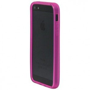 LUVVITT Bumper for iPhone 5 (Retail Packaging) - Transparent Pink