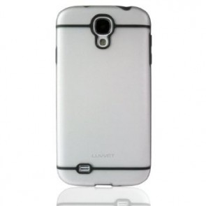 LUVVITT HYBRID Transparent Case / Cover for GalaxyS4 - Clear / Gray