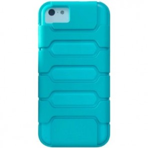 LUVVITT ARMOR SHELL Double Layer Shock Absorbing Case for iPhone 5C - Blue