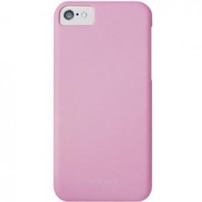 LUVVITT SKINNY Matte Slim Hard Case Back Cover for Apple iPhone 5C - Pink