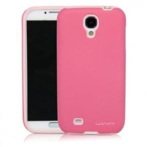 LUVVITT ARMOR SHELL Dual Layer Shock Absorbing Case for Samsung Galaxy S4 Pink