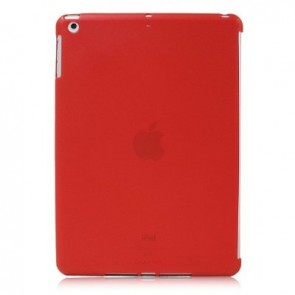 LUVVITT DOLCE Soft Back Cover for iPad Air 5th Gen Comp. w/ Smart Cover - Red