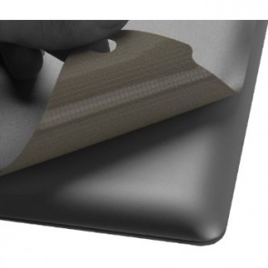 LUVVITT SILVERBACK Skin for iPad Air - Comp. w/Smart Cover -Space Gray