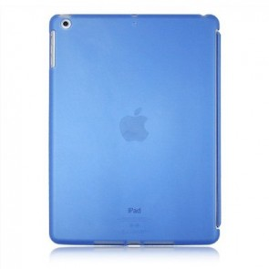 LUVVITT DOLCE Soft Back Cover for iPad Air Compatible w/Smart Cover - Blue