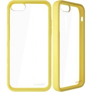 LUVVITT CLEARVIEW Case for iPhone 5C - Yellow