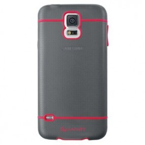 LUVVITT HYBRID Galaxy S5 Case | Case / Cover for Galaxy S5 - Black / Red