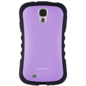 LUVVITT ARMOR PRO Case for Samsung Galaxy S4 SIV (LIFETIME WARRANTY) - Purple