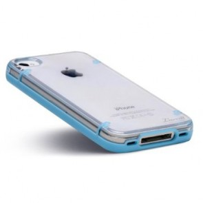 Luvvitt ACCENT Case for iPhone 4 & 4S - White