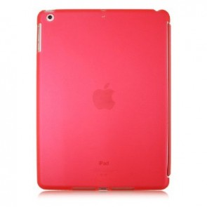LUVVITT DOLCE Soft Back Cover for iPad Air 5th Gen. Comp. w/Smart Cover - Pink