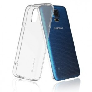 LUVVITT FROST Galaxy S5 Case | Soft Slim TPU Case for Galaxy S5 - Frost