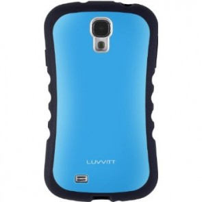 LUVVITT ARMOR PRO Case for Samsung Galaxy S4 SIV (LIFETIME WARRANTY) - Blue