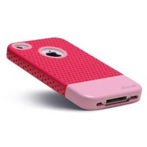 LUVVITT RESPIRA Hard Shell Case for iPhone 4 & 4S - Pink