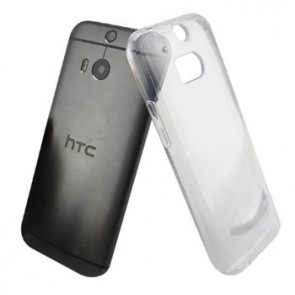 LUVVITT CLEARVIEW HTC One M8 Case | Transparent Case / Cover - Clear