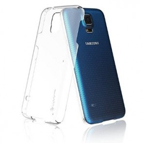 LUVVITT CRISTAL Galaxy S5 Case | Hard Shell Anti-Scratch Case - Crystal Clear