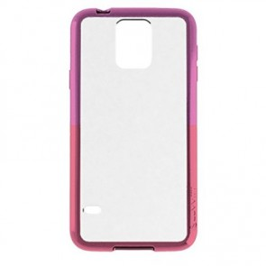LUVVITT® CLEARVIEW Samsung Galaxy S6 Case - Pink / Purple