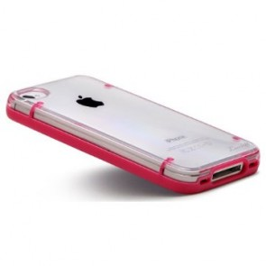 LUVVITT ACCENT Case for iPhone 4 & 4S - Pink