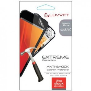 LUVVITT EXTREME Protection ANTI-SHOCK Screen Protector for iPhone 5/5S/5C