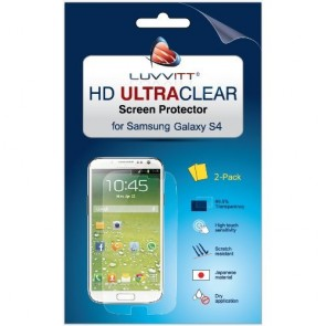 LUVVITT HD Ultra-Clear Screen Protector for Samsung Galaxy S4 SIV