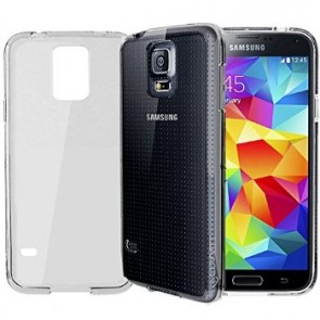 LUVVITT CRYSTAL VIEW Case for Samsung Galaxy S5 | Bumper with Back Cover - Clear