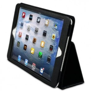 LUVVITT 3D Slim Folio Case Cover for iPad MINI / iPad MINI 2 - Black