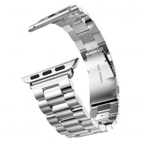 LUVVITT Stainless Steel Apple Watch Band 38mm (LUV-1017) - Silver