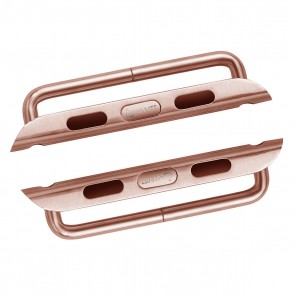 LUVVITT Stainless Steel ADAPTER for Apple Watch 38mm | Adaptor - Rose Gold