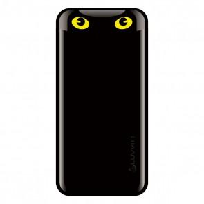 LUVVITT EMOJI Power Bank 6000 mAh Ultra Slim Portable Charger - Black