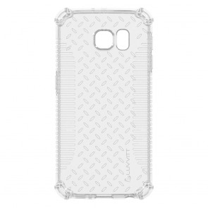 LUVVITT CLEAR GRIP Galaxy S6 EDGE Case | Slim Transparent TPU Case - Clear
