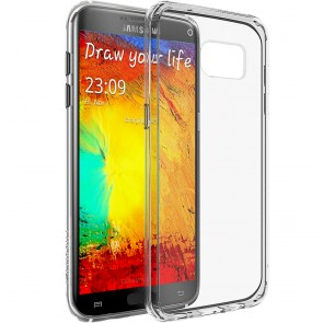 LUVVITT CLEARVIEW Samsung Galaxy S7 Edge Case - Clear
