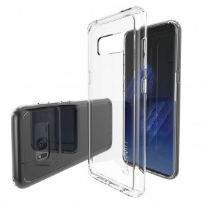 LUVVITT CLEAR VIEW Case for Galaxy S8 Plus - Clear