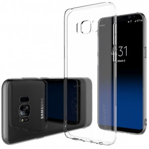LUVVITT CLARITY Case for Galaxy S8 Plus - Clear