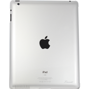 LUVVITT  ZERO - World's Slimmest Hard Shell  Back Cover for iPad 4/3/2 - Clear