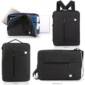 LUVVITT Convertible Backpack / Handbag / Messenger Bag with Shoulder Strap