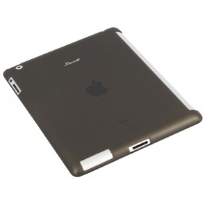 LUVVITT DOLCE Smart Cover Compatible TPU Case BACK COVER for iPad 2/3/4 Black