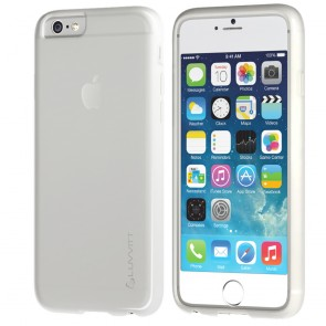 LUVVITT FROST iPhone 6/6s PLUS Case Soft TPU Rubber Back Cover - Frosted Clear