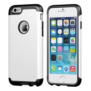 LUVVITT ULTRA ARMOR iPhone 6 / 6S Case | Dual Layer Back Cover - White