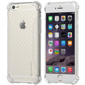 LUVVITT CLEAR GRIP iPhone 6 / 6S Case | Soft TPU Rubber Back Cover