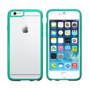 LUVVITT CLEARVIEW Case for iPhone 6S / 6 | Hybrid Back Cover - Mint Green