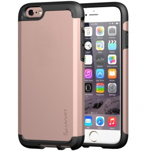 LUVVITT ULTRA ARMOR NL iPhone 6s Case | Dual Layer Back Cover - Rose Gold