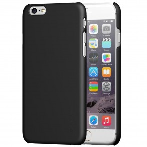 LUVVITT SVELTE Hard Slim Fit Premium Matte Finish Case for iPhone 6/6s - Black